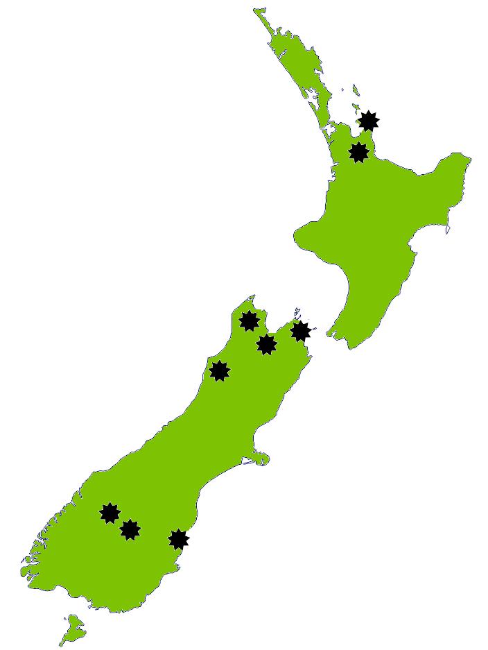 Goldmap New Zealand