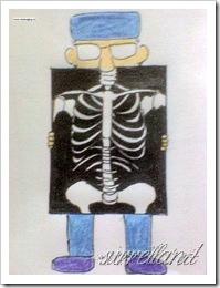 我自己(为班服)画的一个小卡通... 严格说起来还有点骨骼缺陷...